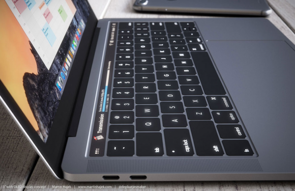 'Apples MacBook Pro OLED-touchscreen gaat Magic Toolbar heten'
