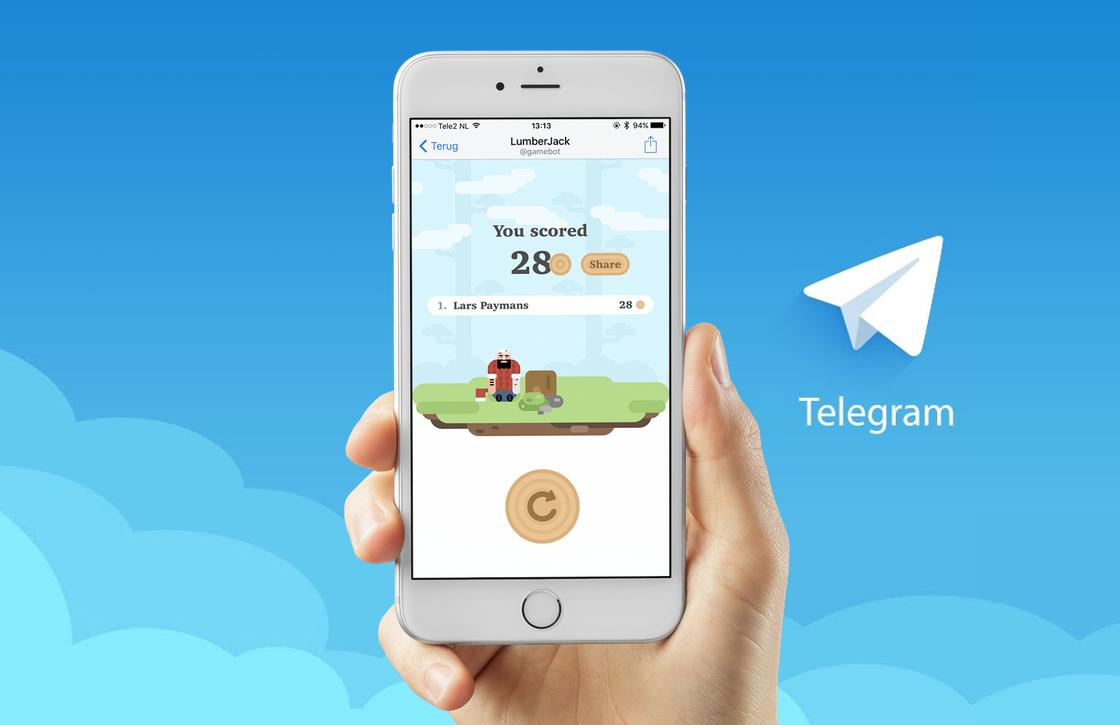 Chat-app Telegram lanceert eigen gaming platform, zo daag je vrienden uit