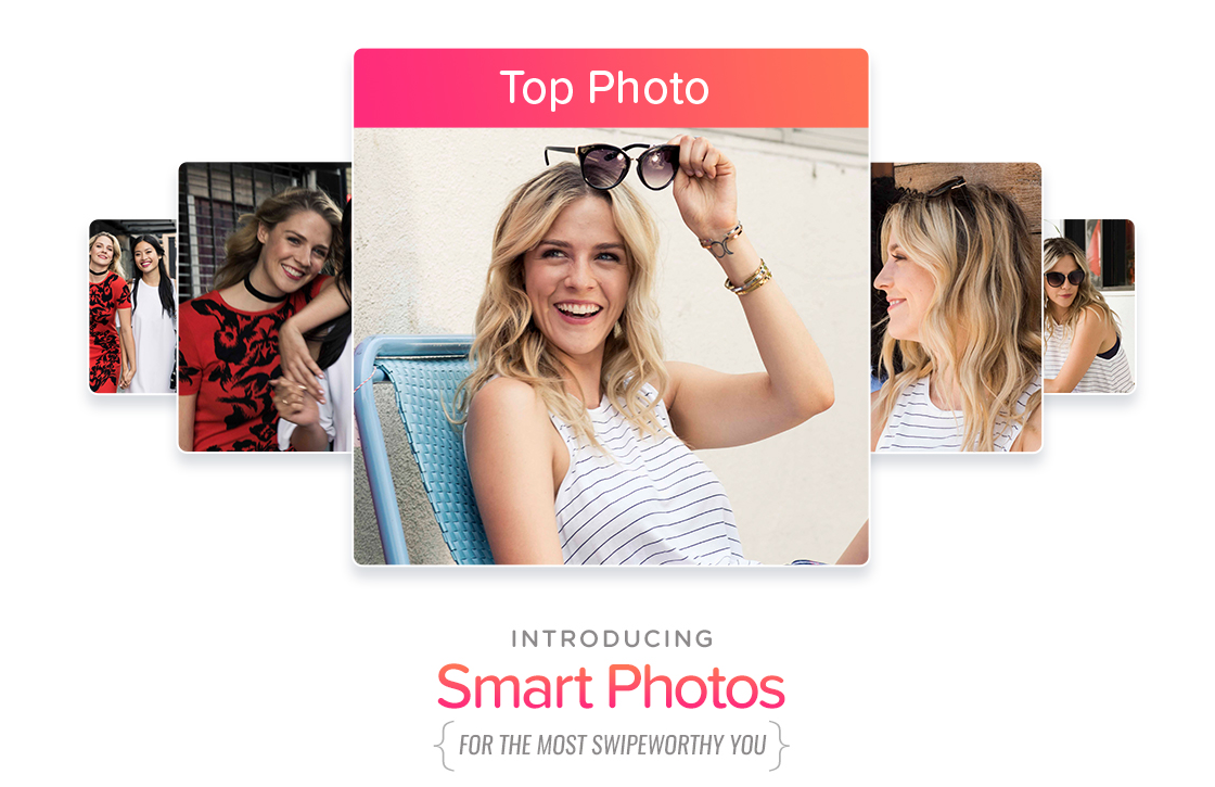 Tinder kiest voortaan zelf jouw beste profielfoto uit met Smart Photos