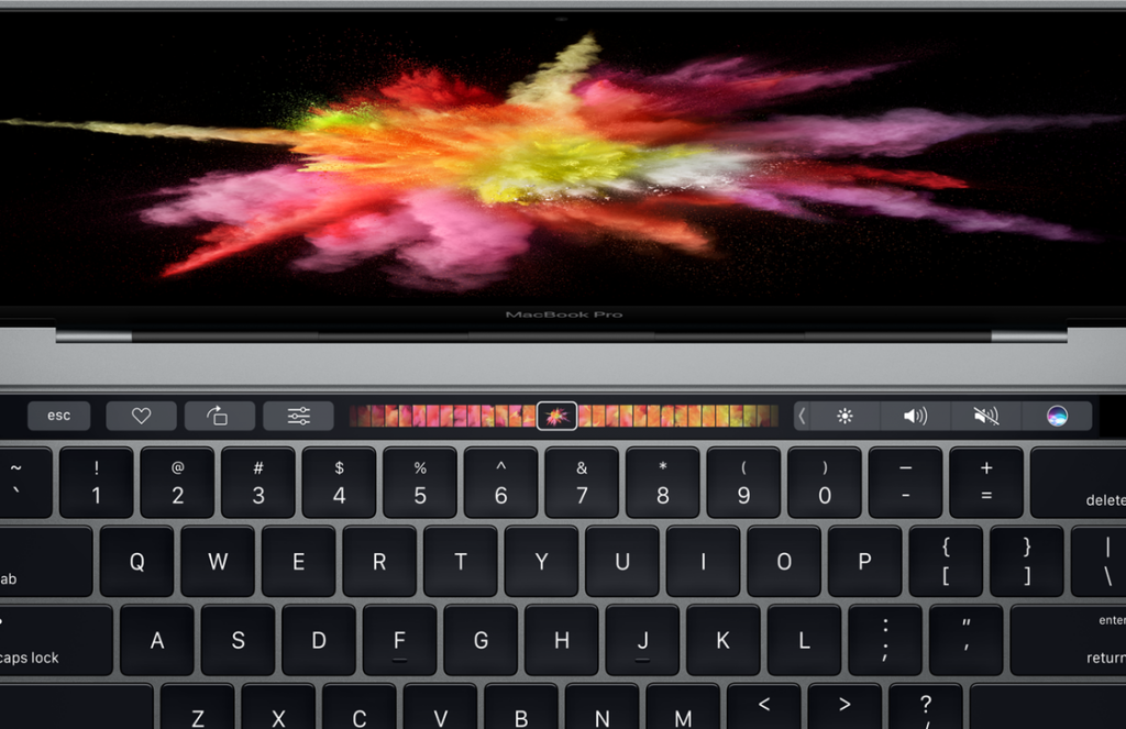 Touch Bar functies