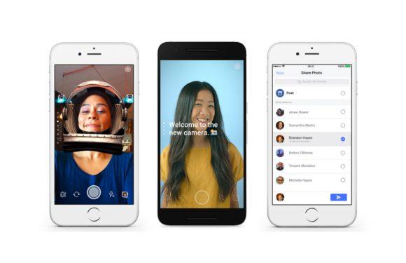 Facebook test geanimeerde gezichtsmaskers in nieuwe camera