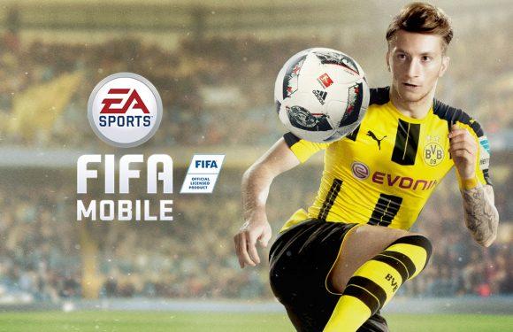 FIFA Mobile Voetbal: gestripte versie van de populaire voetbalgame