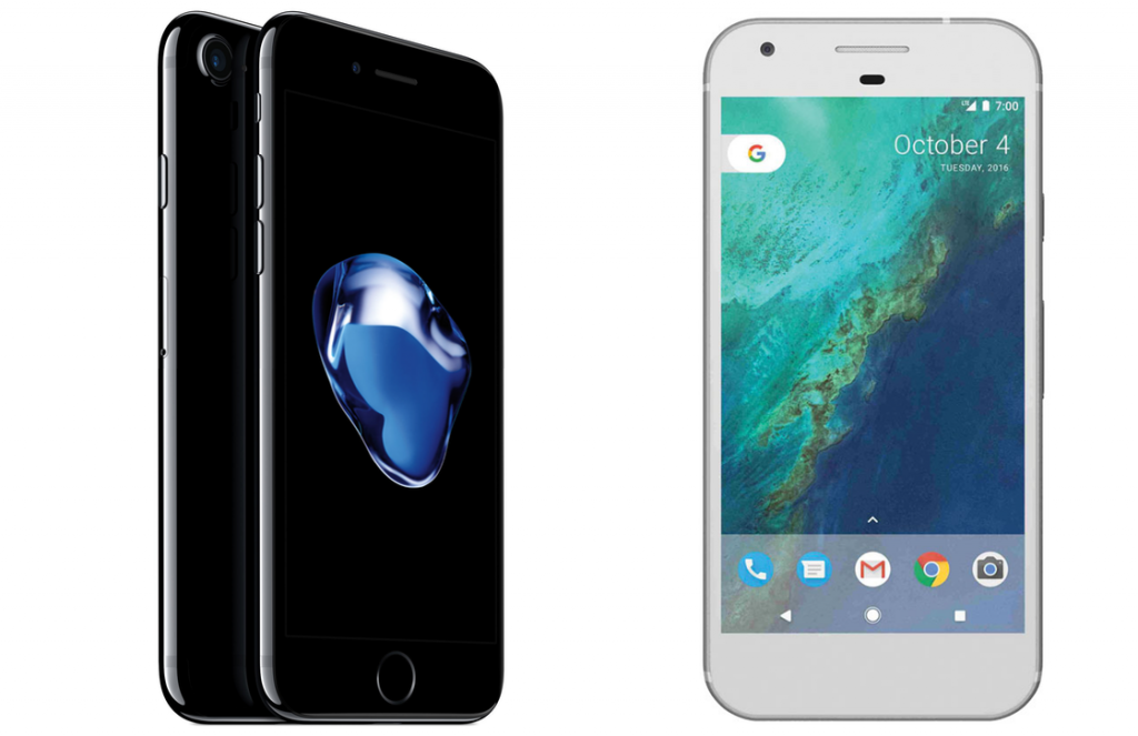 iPhone 7 Plus vs Google Pixel XL