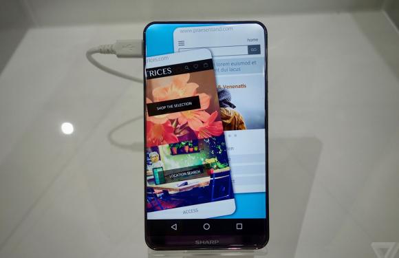 Sharp-concept geeft ons een mooi voorproefje op de iPhone 8