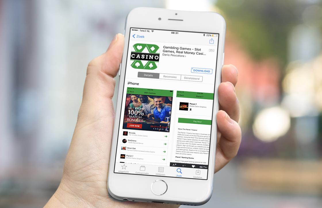Apple haalt meer dan 50 gok-apps uit Nederlandse App Store
