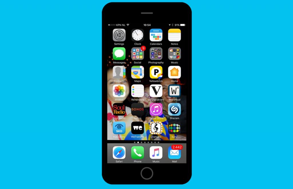 iPhone Ruben van der Meer