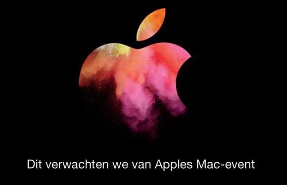 Dit verwachten we vanavond om 19:00 van Apples 2016 MacBook-event
