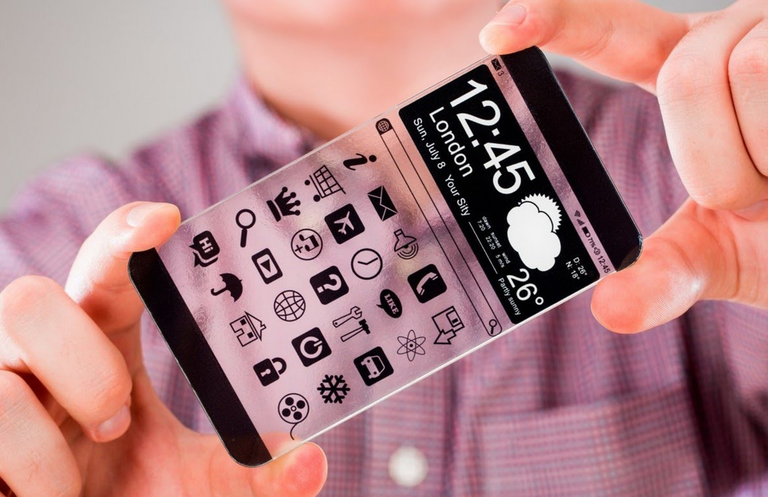 'iPhone 8 krijgt transparant scherm en focust zich op mixed reality'