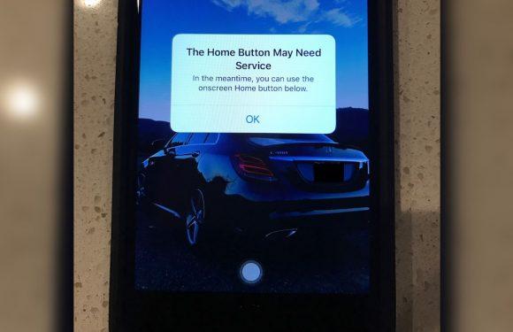 iPhone 7 biedt virtuele homeknop als fysieke knop niet werkt