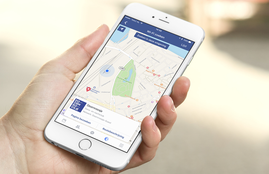 Nieuwe Facebook-functie toont openbare wifi-netwerken in je omgeving