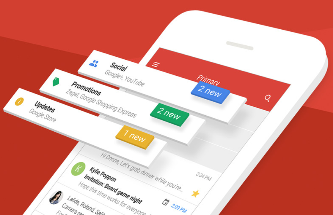 Gmail-app voor iOS krijgt nieuw design, betere zoekfunctie en meer