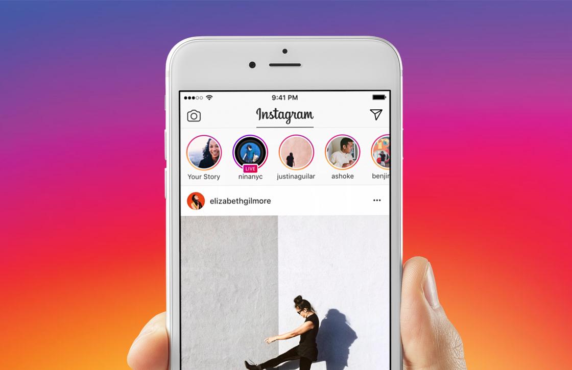 Livestreamen met Instagram, zo doe je dat op je iPhone