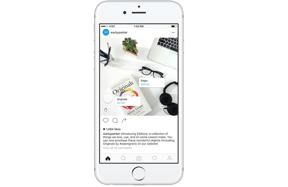 Nieuwe Instagram winkelfunctie laat je spullen kopen vanuit de app