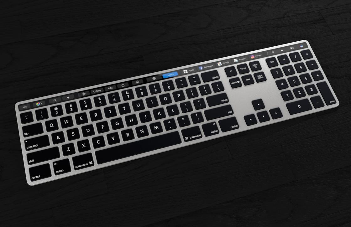 Zo kan een Magic Keyboard met Touch Bar eruit komen te zien