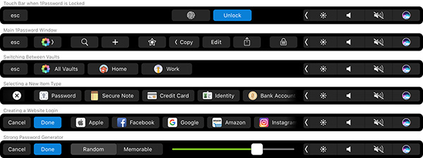 1password touch bar