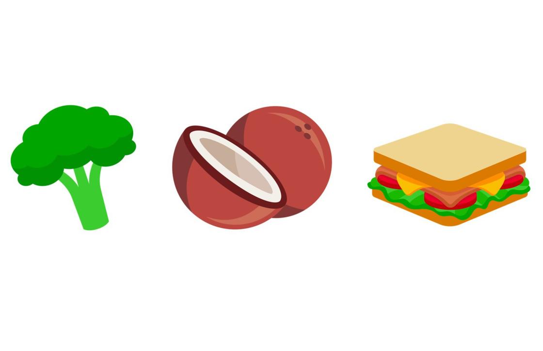 Unicode 10 eten