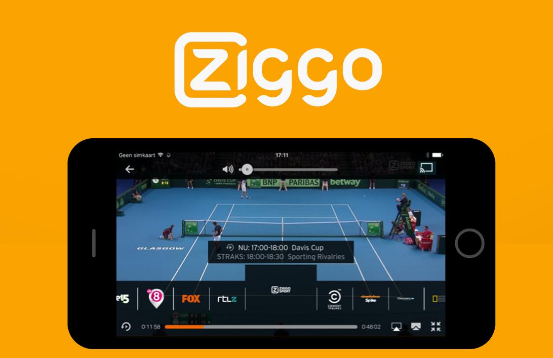 De nieuwe Ziggo GO iOS-app gaat Horizon GO vervangen
