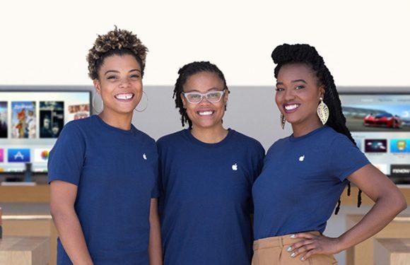 Apple-top bestaat nog steeds grotendeels uit witte mannen
