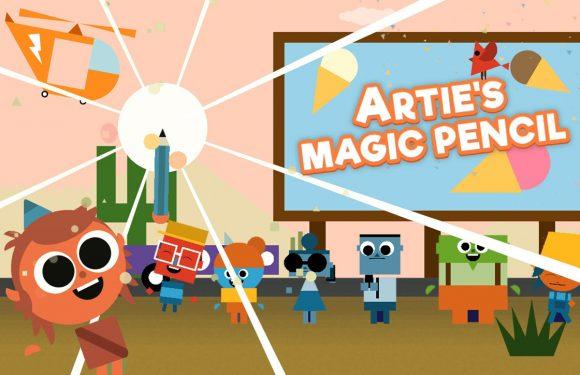 Artie's Magische Potlood is Apples gratis App van de Week