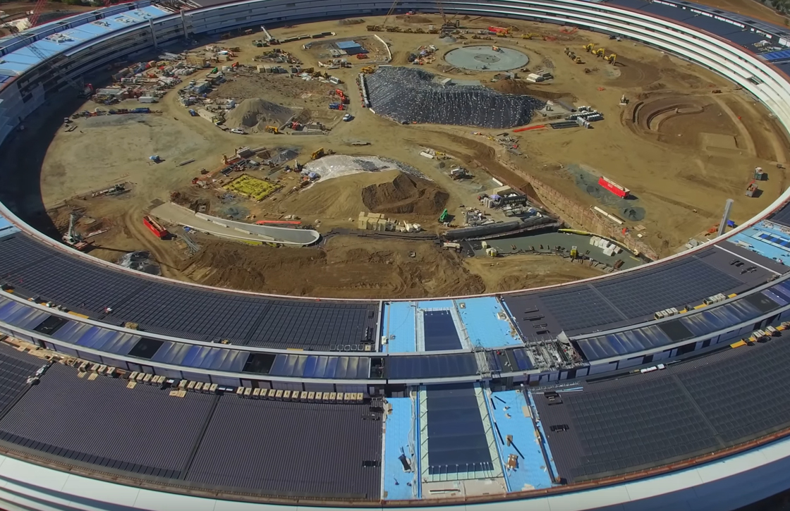 Apple Campus 2 november-video toont voortgang