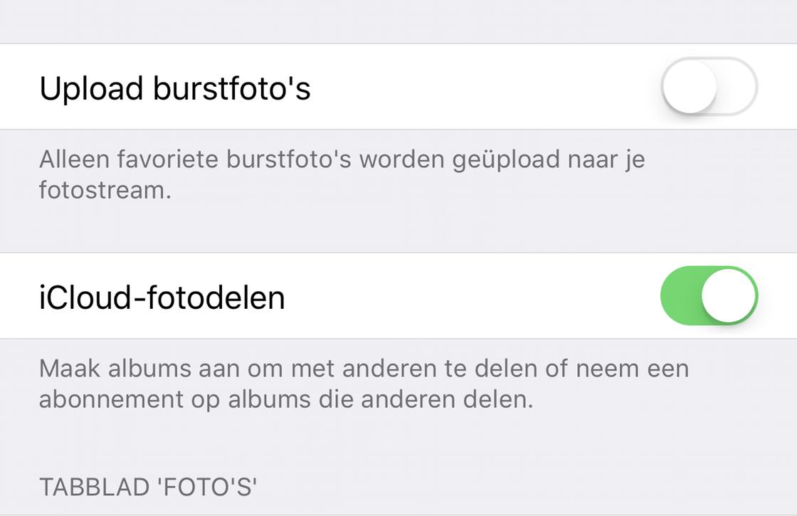 iCloud spam