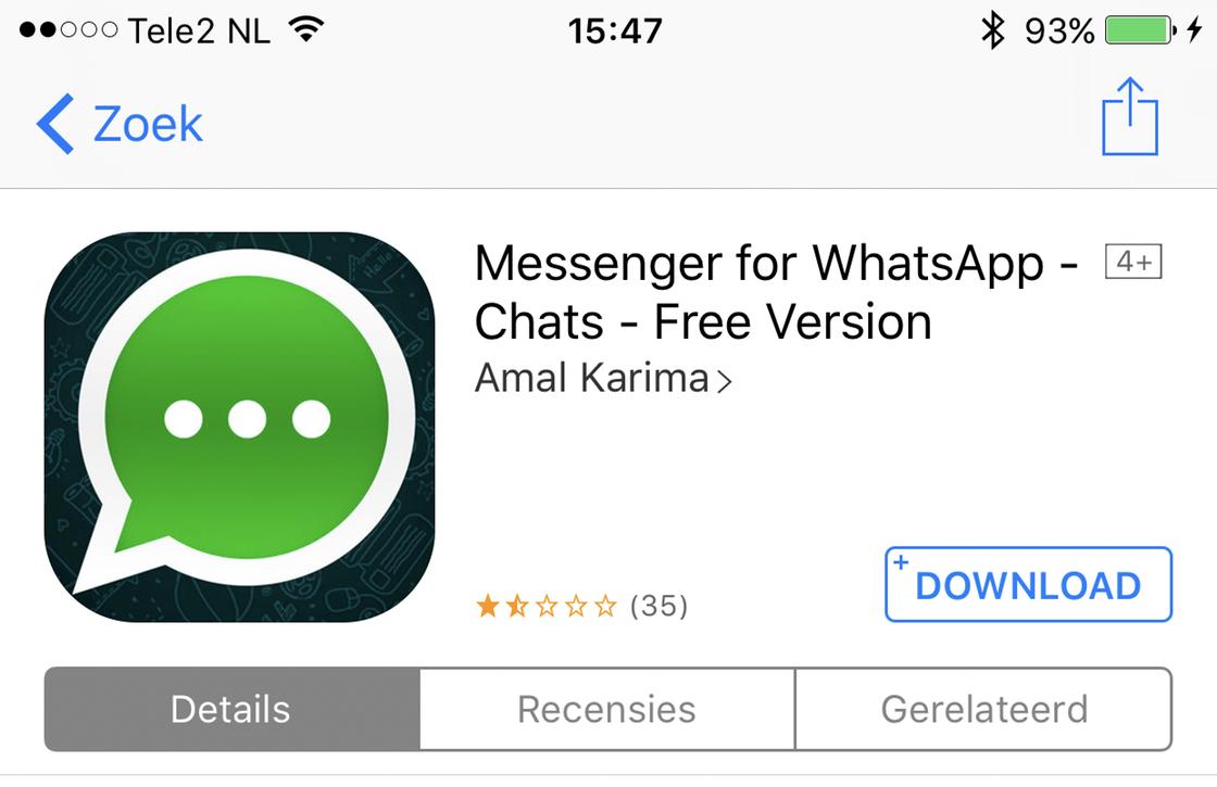 iOS namaak-apps