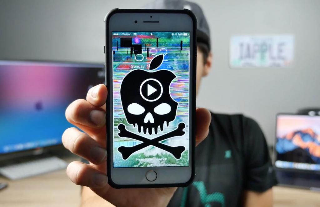 iOS video bug