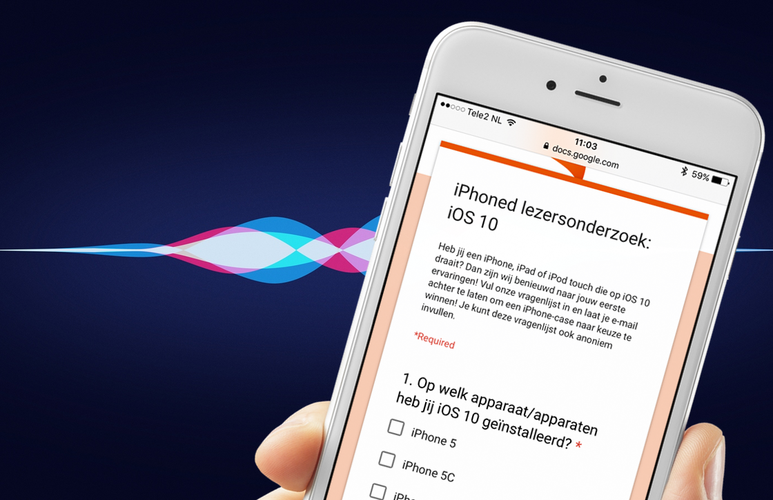 Doe mee aan ons iOS 10 lezersonderzoek, deel je ervaringen, win een iPhone-case