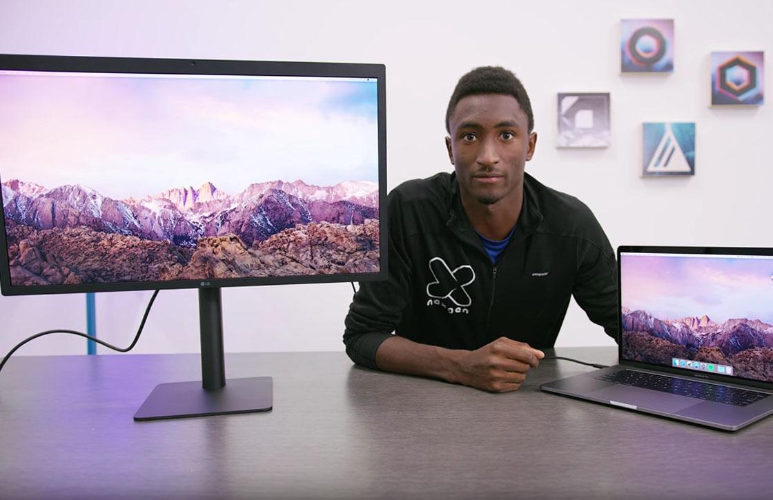 Video: Unboxing van LG UltraFine 5K Display met MacBook Pro