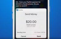Geld overmaken via PayPal kan nu met stemherkenning van Siri
