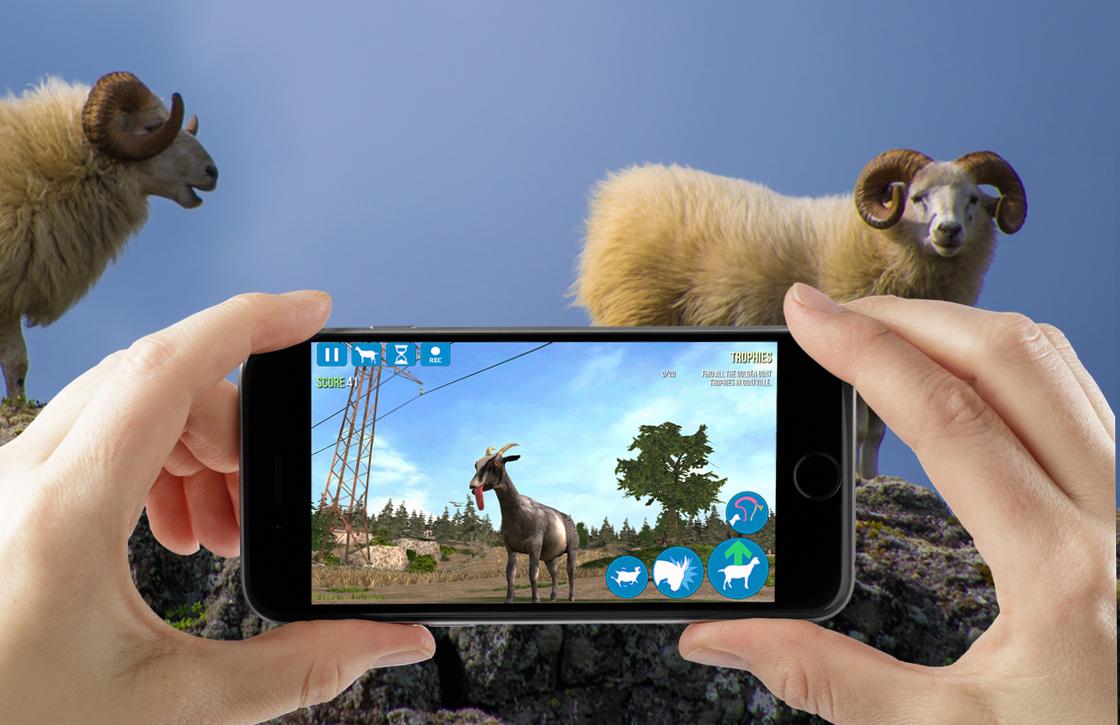 Gekkigeit: Het krankzinnige Goat Simulator is Apples gratis App van de Week