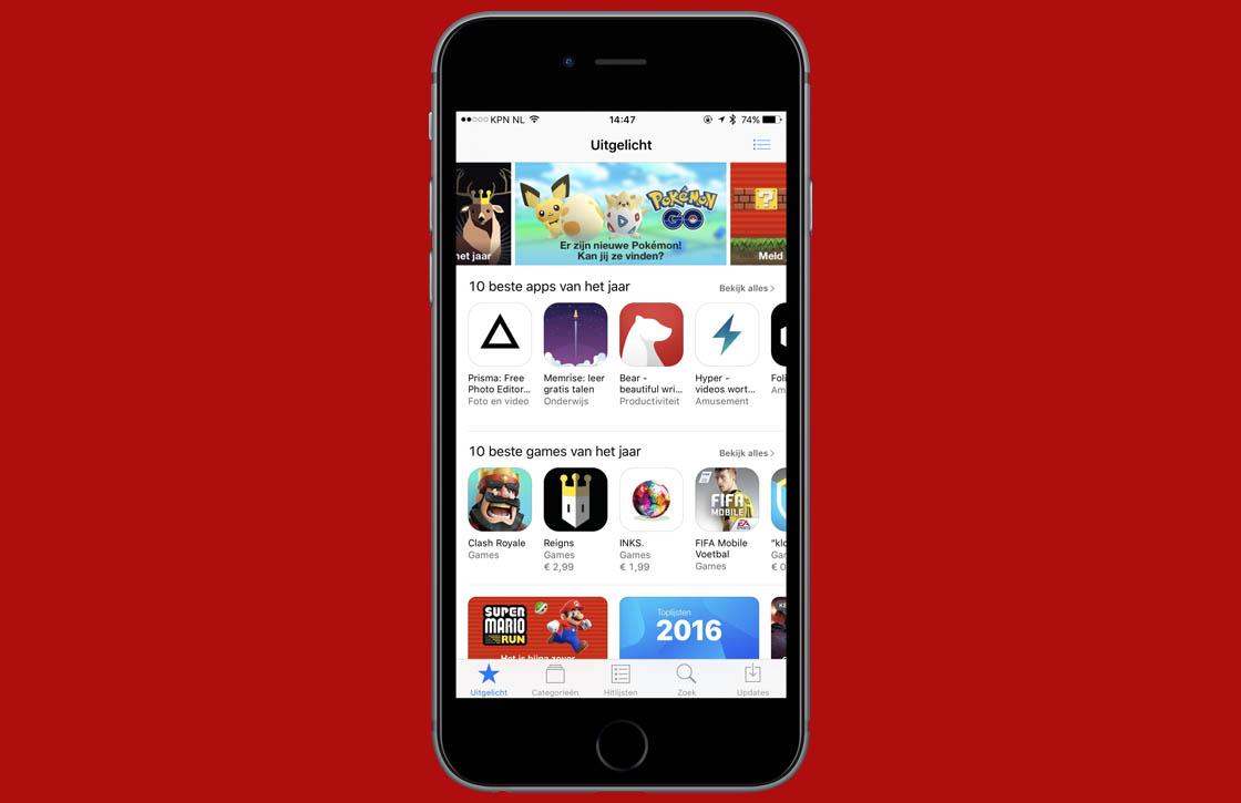 app store recordomzet