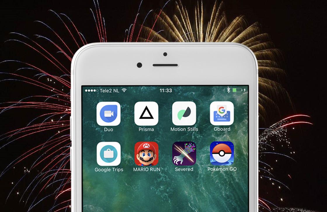 De 8 beste iOS-apps van 2016 volgens Lars