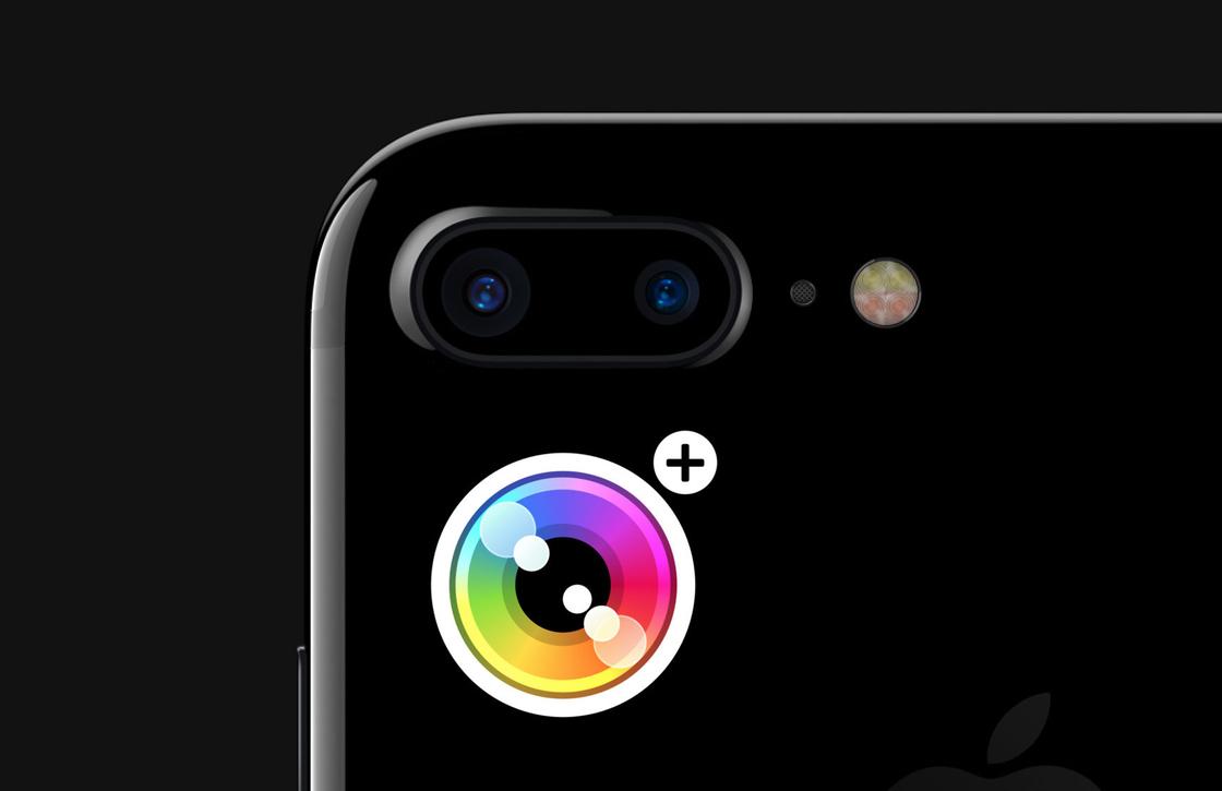 Camera+ laat je schakelen tussen iPhone 7 Plus-camera's, ondersteunt nu RAW-foto's