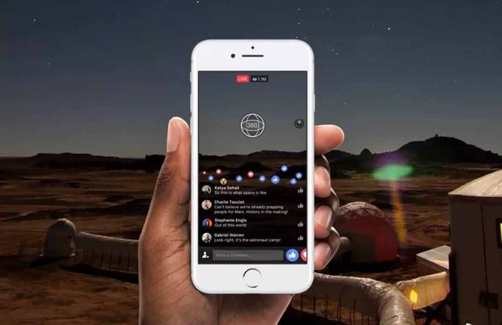 Apple TV Facebook-app