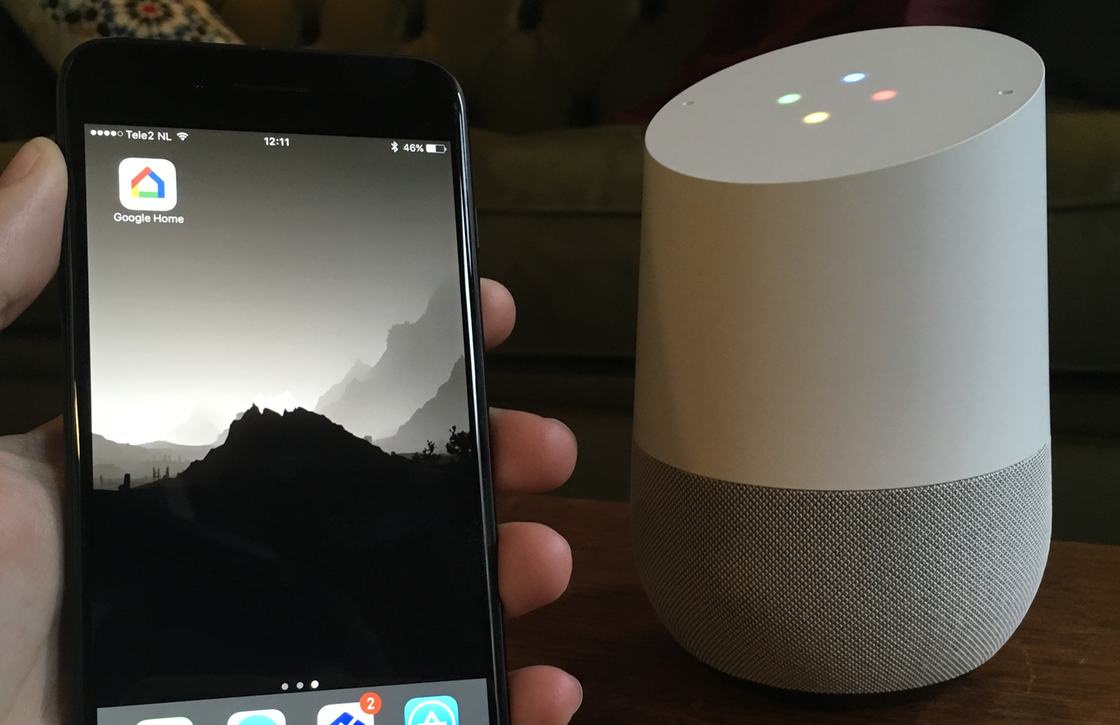 Google Home iPhone