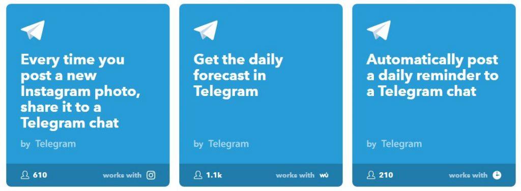 ifttt op telegram