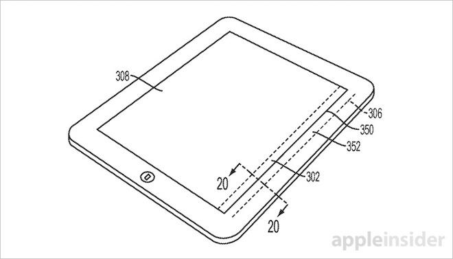 Apple iPad E-ink Touch Bar