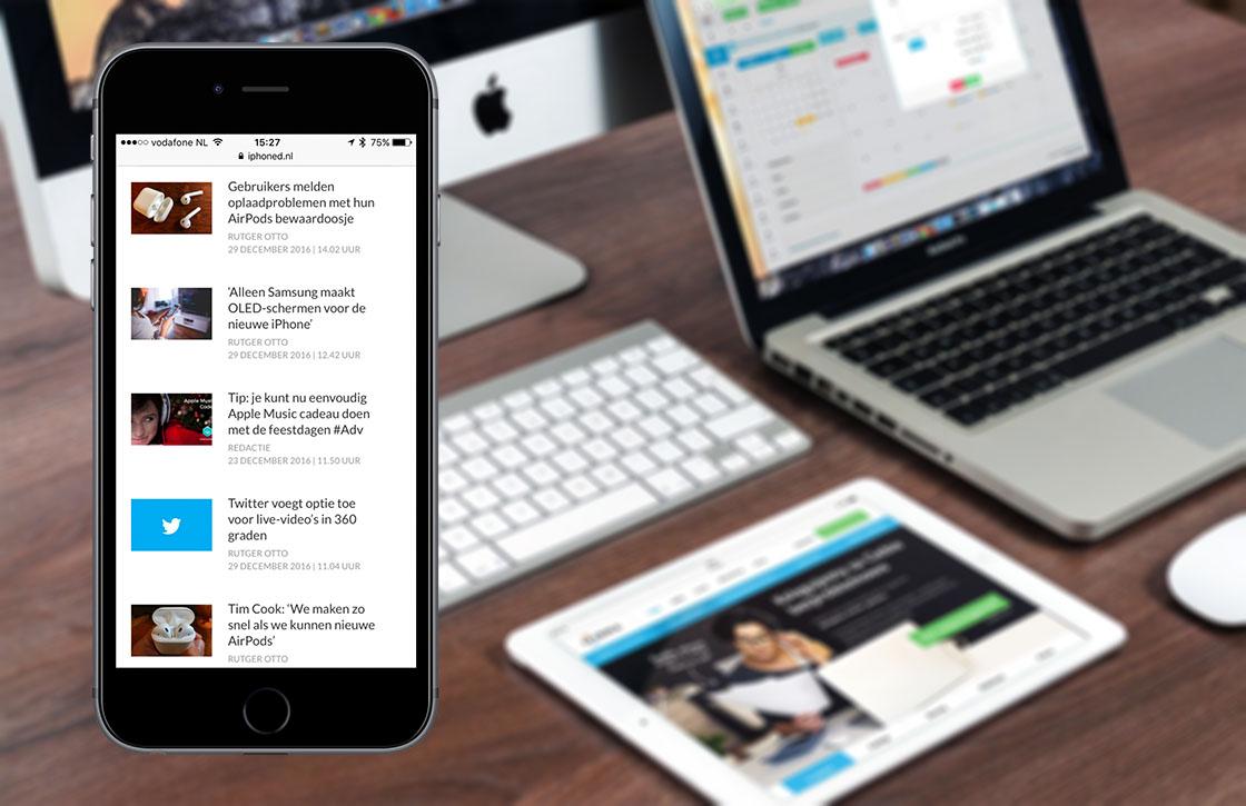 Nieuwsoverzicht week 17: iOS-apps duurder en iPhone 8 uitgesteld