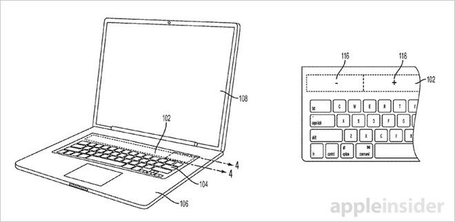 MacBook E-ink Touch Bar