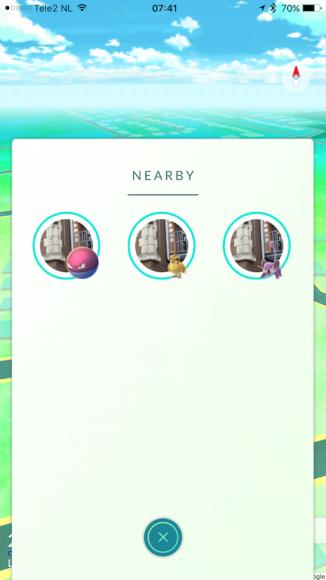 Pokémon GO Nearby