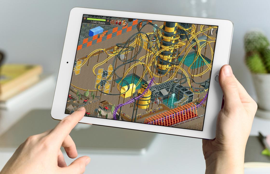 Rollercoaster Tycoon Classic brengt klassieke pretparksim naar iPhone en iPad