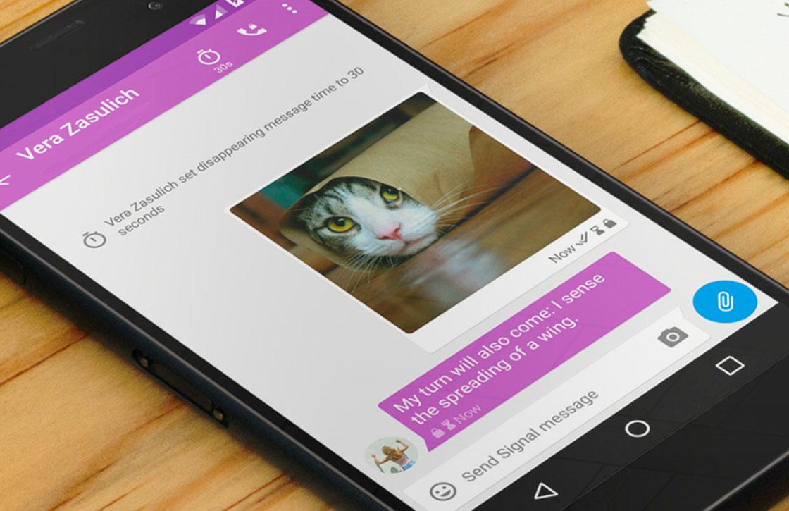 Zo wil chat-app Signal blokkades van overheden omzeilen