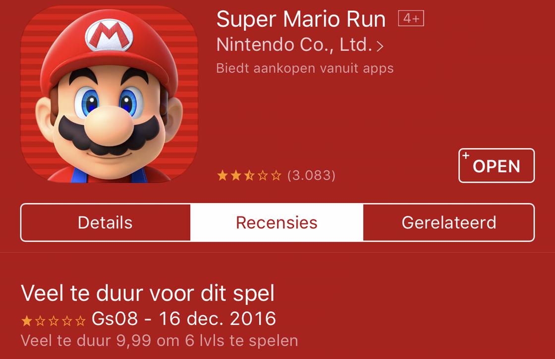 iOS app reviews