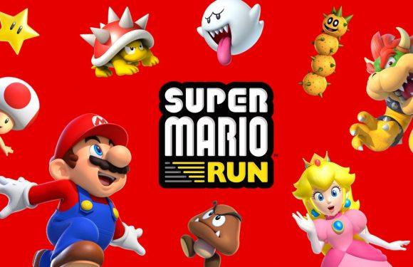 Nintendo brengt grote update voor Super Mario Run uit