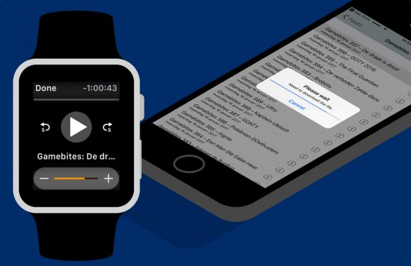 WatchPlayer laat je podcasts luisteren via de Apple Watch-luidspreker