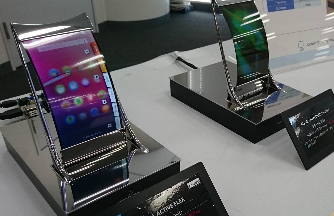 'Apple onderzoekt flexibele schermen voor toekomstige iPhones'
