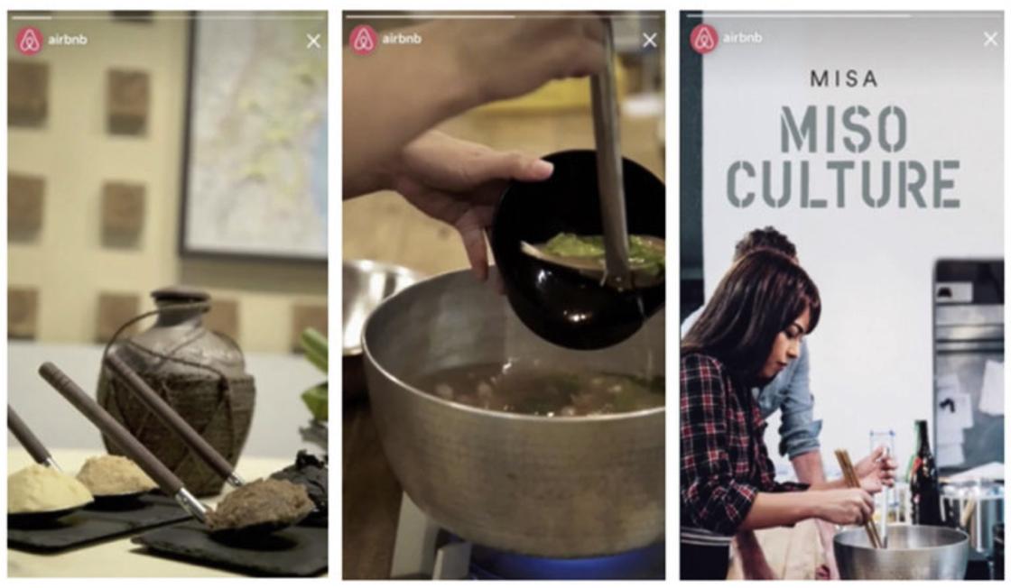 Instagram Stories reclame