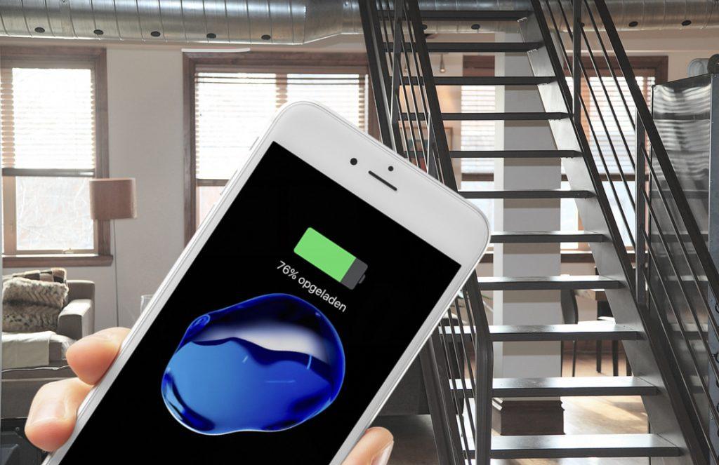 2017 iPhone draadloos opladen