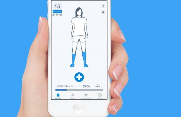 Drink meer water met Apples gratis App van de Week WaterMinder
